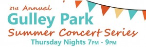 gulley park concerts