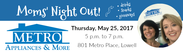 metro moms night out invite
