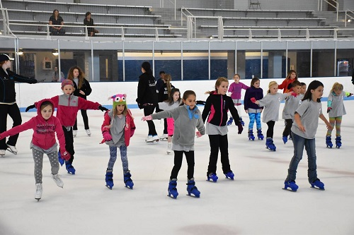 skaters at the jones center