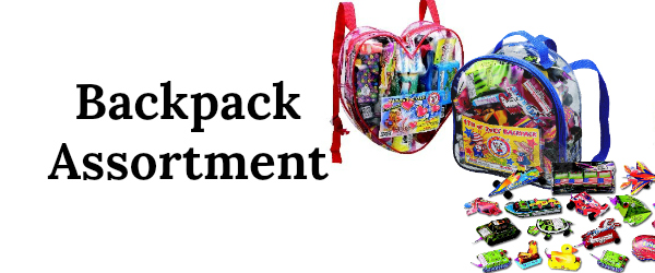 5 backpack assortment 250