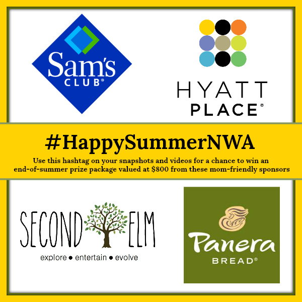 Happy Summer hashtag event sponsors