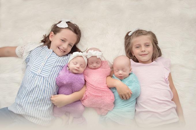 Karissa Smallwood, the babies