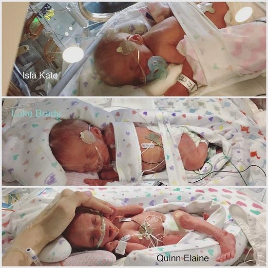 Karissa Smallwood's triplets