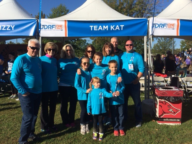 Team Kat at JDRF walk