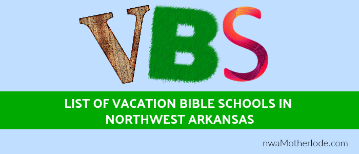 Vacation Bible School 2017, Northwest Arkansas