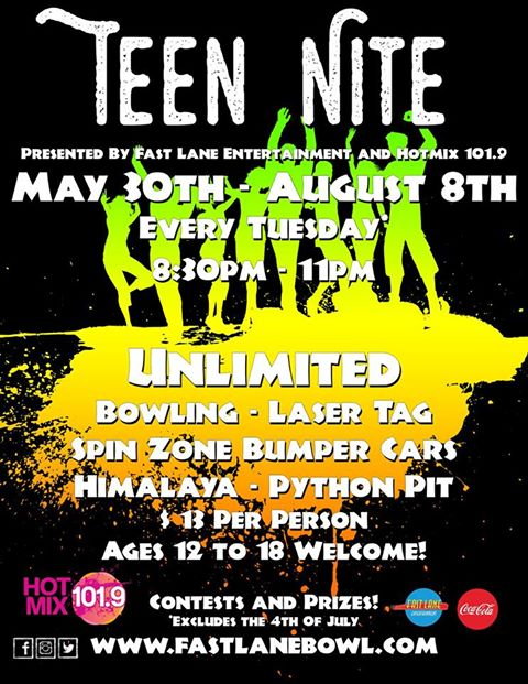 Outings under $20: Kids Bowl Free all summer + $13 Teen Nite!