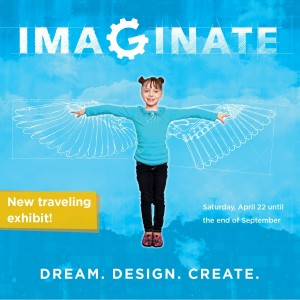 traveling exhibit imaginate at the amazeum museum