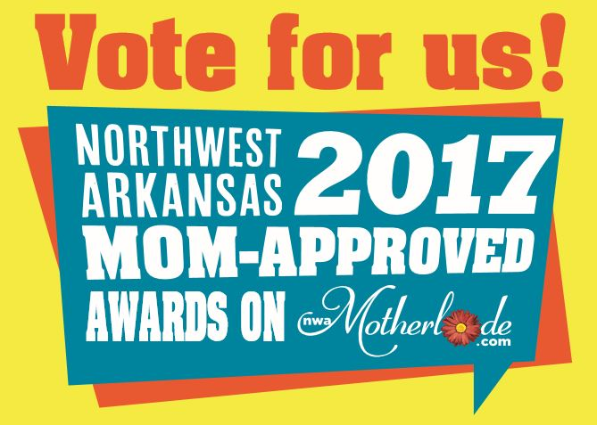 2017 Mom-Approved Awards Voting Open: Pick your favorite Northwest Arkansas mom-friendly businesses