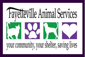 Fayetteville Animals Services logo 2017 Northwest Arkansas animal shelter