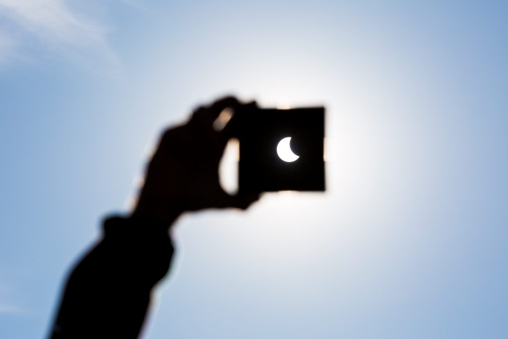 Devotion in Motion: The eclipse and the Word