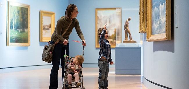Crystal Bridges Museum art classes for babies, toddlers, preschoolers, elementary, homeschoolers and teens/tweens
