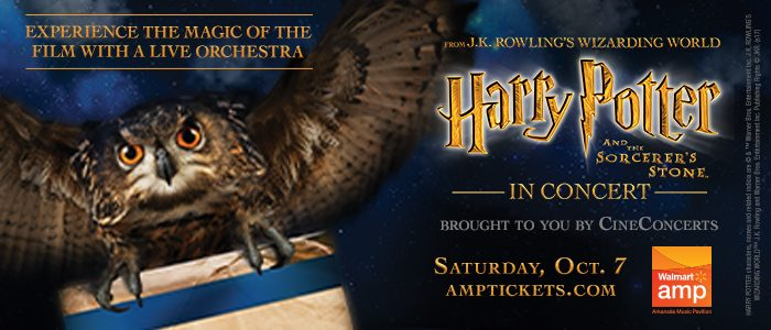 Giveaway: Harry Potter Live in Concert at the AMP featuring the Symphony of Northwest Arkansas