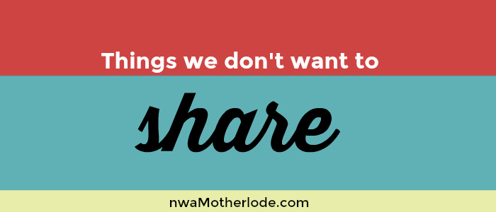 When mama doesn't want to share…