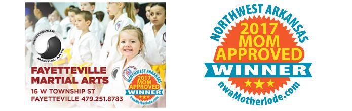 Northwest Arkansas Mom-Approved 'Best Overall' Award Winner: Fayetteville Martial Arts