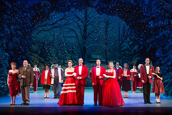 Giveaway: Tickets to see White Christmas at Walton Arts Center