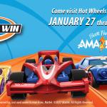 Hot Wheels exhibit open through April at the Amazeum