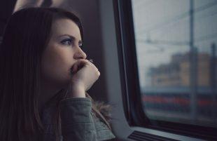 woman feeling stress
