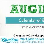 Northwest Arkansas Calendar of Events: August 2018