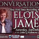 The Rogers Public Library Foundation Presents: A Conversation with best-selling author Eloisa James