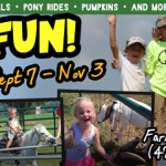Farmland Adventures is OPEN with a new corn maze design + loads of fun for the kids
