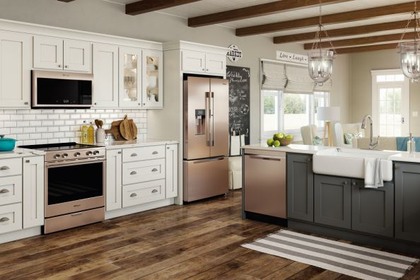 Trending: New appliance colors in the kitchen -