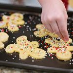 A sweet Christmas cookie for Santa