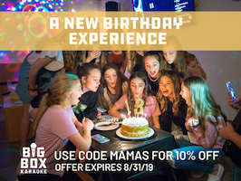 Big Box Karaoke birthday parties coupon