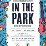 2019 Fun Family Outings in Northwest Arkansas: FREE 'In the Park' events at Lawrence Plaza