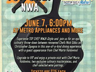 TOP CHEF NWA 2019, Metro Appliances