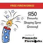 Fireworks giveaway from Pinnacle Fireworks