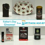 Father's Day Giveaway! Great guy stuff from Scott Frame and Art