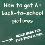 Back to school picture tips
