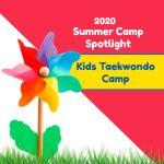 2020 Summer Camp Spotlight: Kids Taekwondo Camp