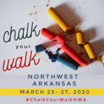 Giveaway: Chalk Your Walk, Northwest Arkansas!