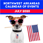 Northwest Arkansas Calendar of Events: July 2020