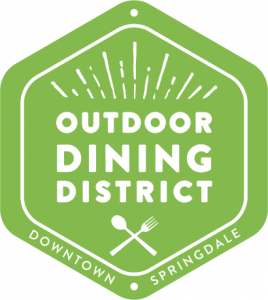 Outdoor Dining District, Springdale