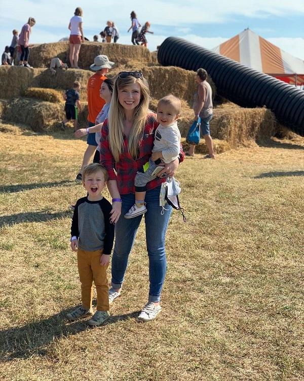 April Wallace, Farmland Adventures, family