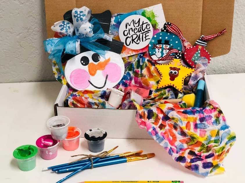 My Create Crate, holiday crate