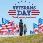 November 11, 2020: Today is Veteran's Day
