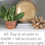 How to style shelves in your home