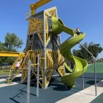 Review of Railyard Park in Rogers