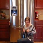 The Big Chill refrigerator winner!