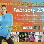 Fleet Feet's Heart and Sole Fashion Show on Feb. 25th!