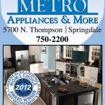 "Mom's Choice Award Winner: Metro Appliances & More wins for ""Best Appliance Store"" in Benton County"