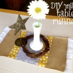 Crafty Mama: DIY Fall 'mini' table runner!