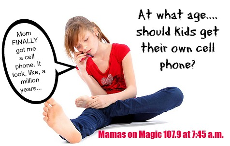 What is the Best Age to Get Your Kid a Cell Phone