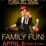 Giveaway: Children's show with pets at Walton Arts Center!