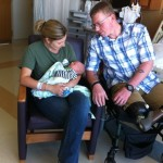 Baby's name honors corpsman who saved father's life