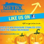 Win an over-the-range microwave from Metro Appliances