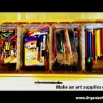 How To: 5 tips to corral the kids' craft clutter!